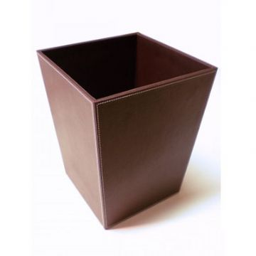 IBB Eco Leather Waste Paper Basket - HO22MAR